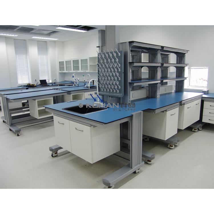 模块化实验室家具中央实验台
