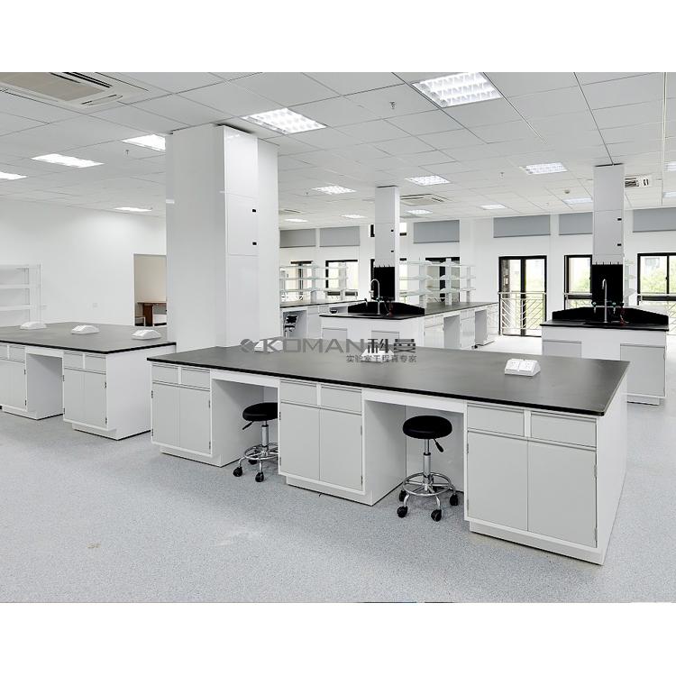 实验室家具全钢试验台中央台